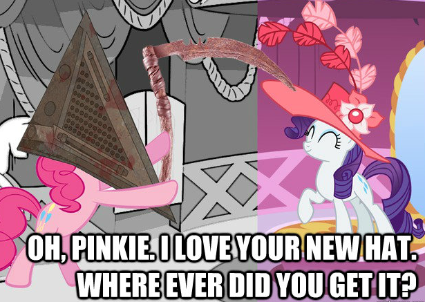 Pinkie Pie Goes To Silent Hill Part 2 My Little Pony