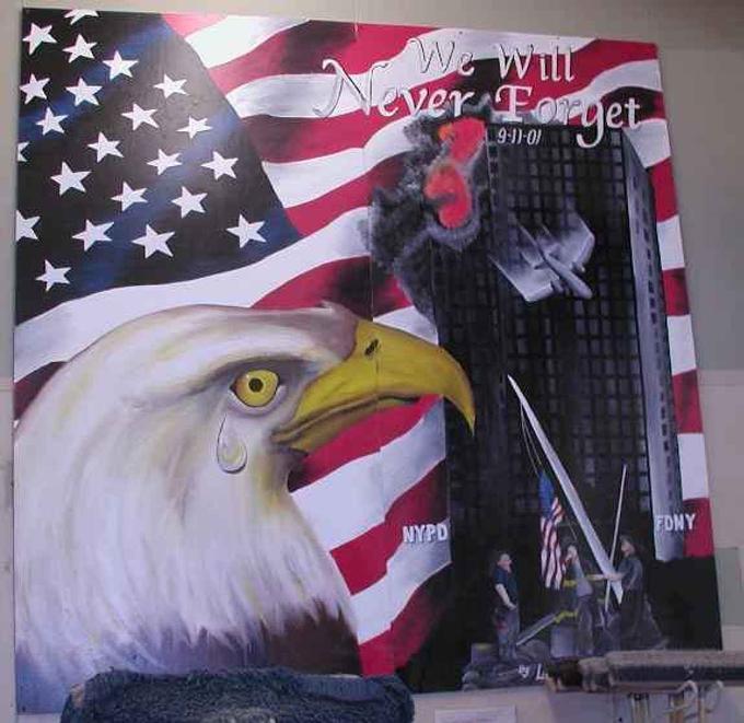 ANO 0-16 National September 11 Memorial & Museum September 11 attacks advertising