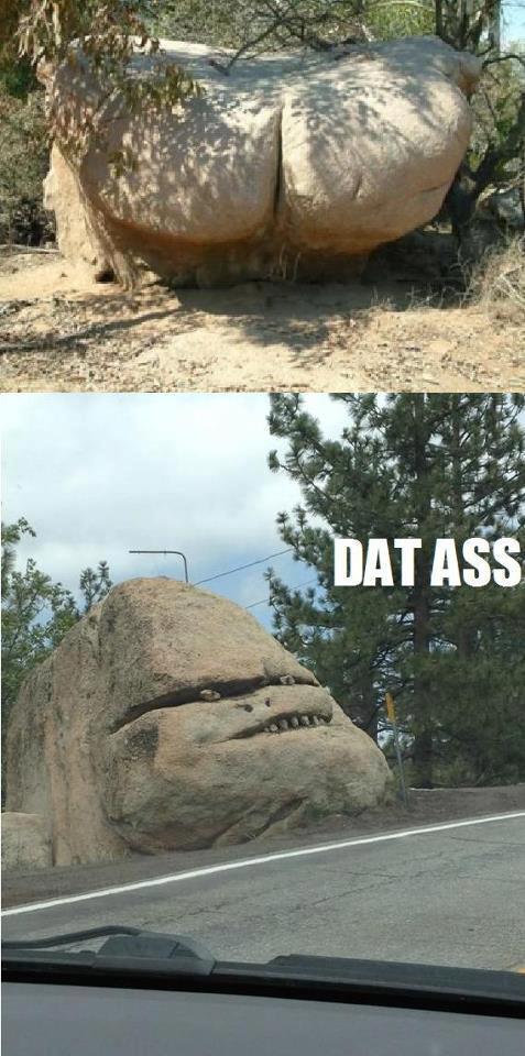 Rock hard ass