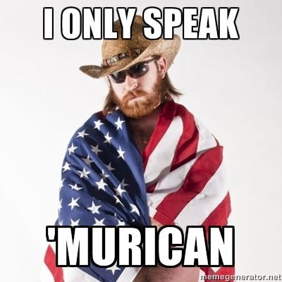 DONLY SPEAK MURICAN megenierator.rnet Pound Southern United States facial hair beard