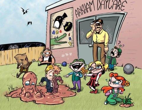 Arkham Daycare For The Criminally Insane | Batman | Know