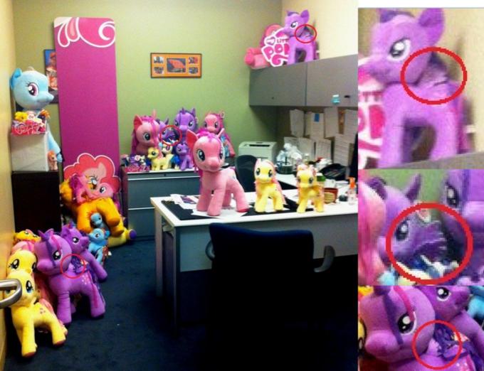 Twilight Sparkle Pinkie Pie Rainbow Dash Rarity Fluttershy Applejack Toy Pink Purple Room Plush