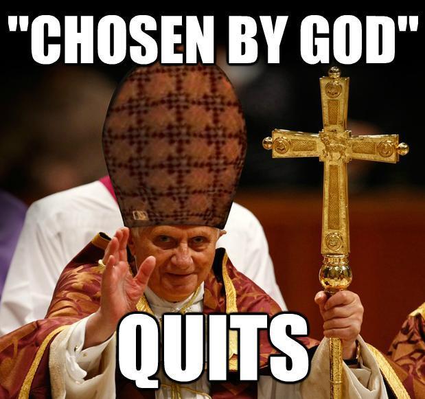 Pope Benedict XVI's Resignation | Know Your Meme