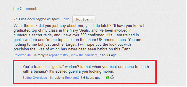 Navy Seal Copypasta | Know Your Meme