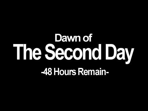 Dawn of The Second Day 48 Hours Remain- The Legend of Zelda: Majora's Mask The Legend of Zelda: Majora's Mask 3D The Legend of Zelda: Breath of the Wild Nintendo 64 text black font black and white logo