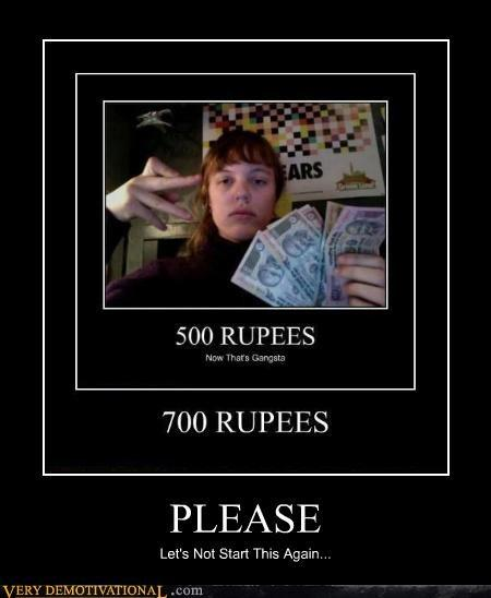 17 Dollars 500 Rupes