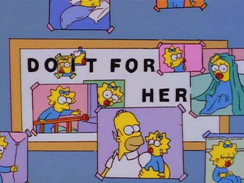do it for her original simpsons edit do it for her know your meme