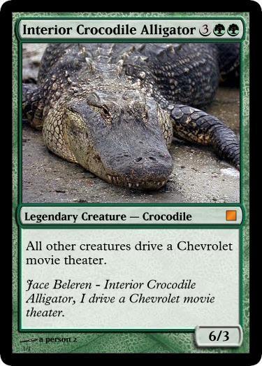 Interior Crocodile Alligator Meme