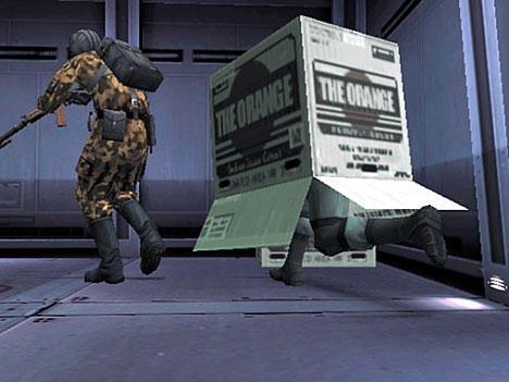 Cardboard Box Metal Gear Know Your Meme