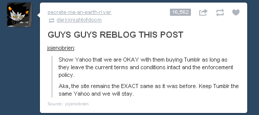 image 547073 yahoo buys tumblr know your meme