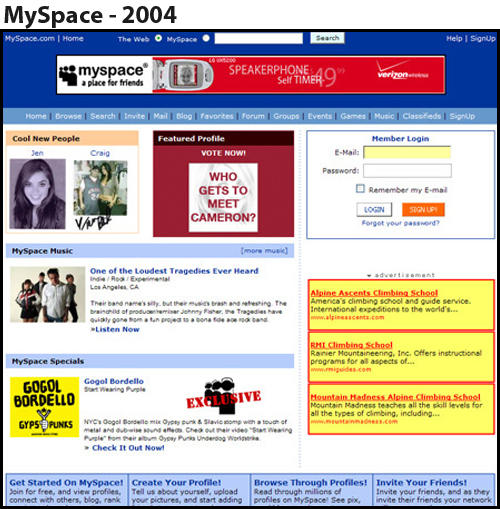 Great dating about me profiles for myspace