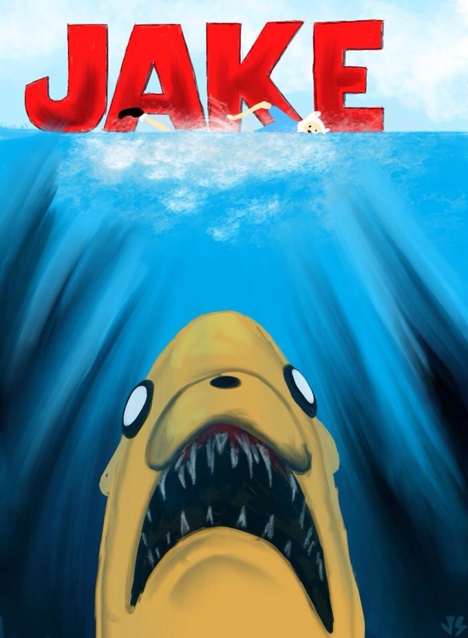 jaws poster parodies know your meme