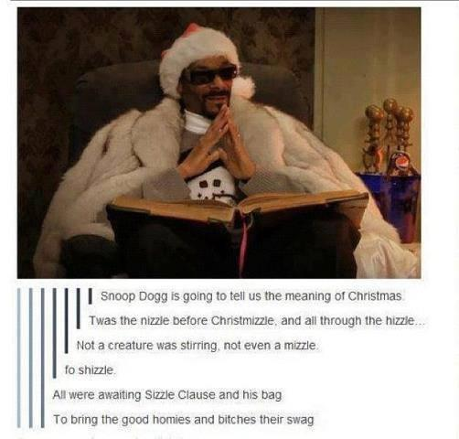 Snoop Dogg Christmas.Snoop Dogg Tells Christmas Like It Is Snoop Dogg Know