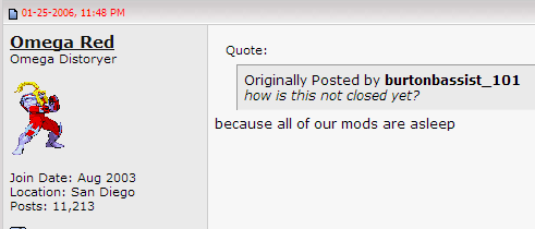 Mods Are Asleep | Know Your Meme