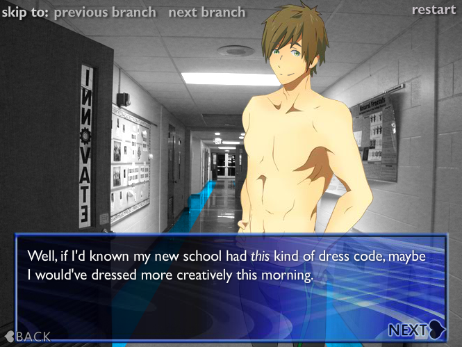 Free online gay anime games