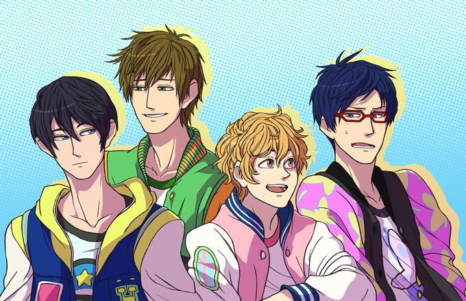 Swimming anime dating sim deviantart emoticons