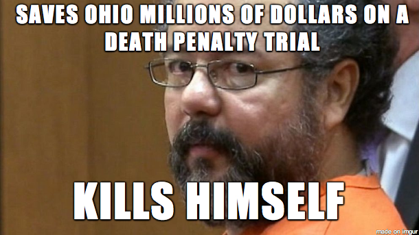 Saves Ohio Millions Of Dollars On A Penalty Trial Kills Himself Made Imqur