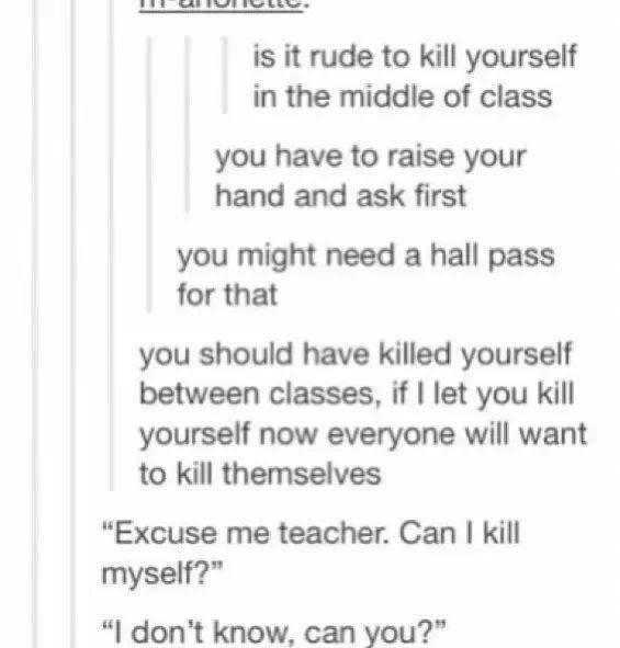 what would happen if you killed yourself
