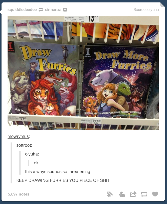 Furries book draw