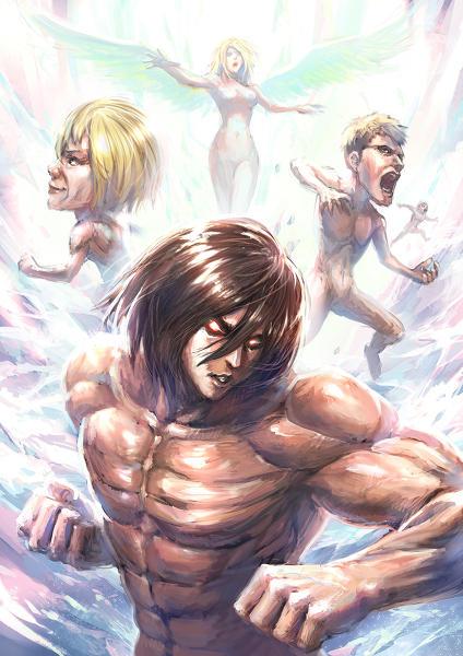 Hahaha Mikasa Is A Male Titan Why Was Annie A Female