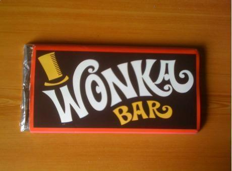 A Real Wonka Bar Willy Wonka The Chocolate Factory