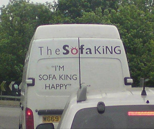 The Sofa King Van Win Epic