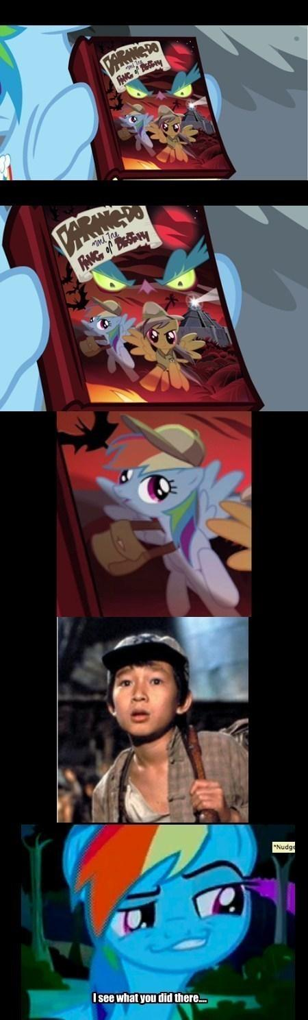 Rainbow Dash Is The New Worst Indiana Jones Character Ever My