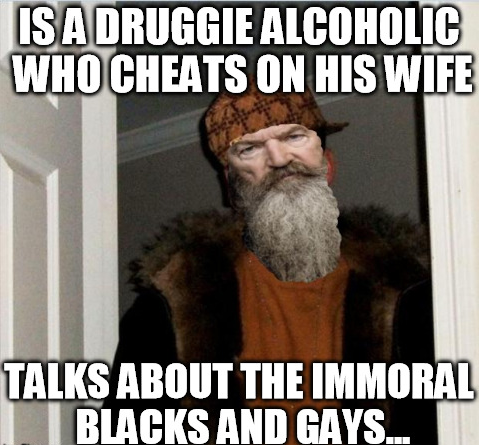 scum bag phil duck dynasty controversy know your meme
