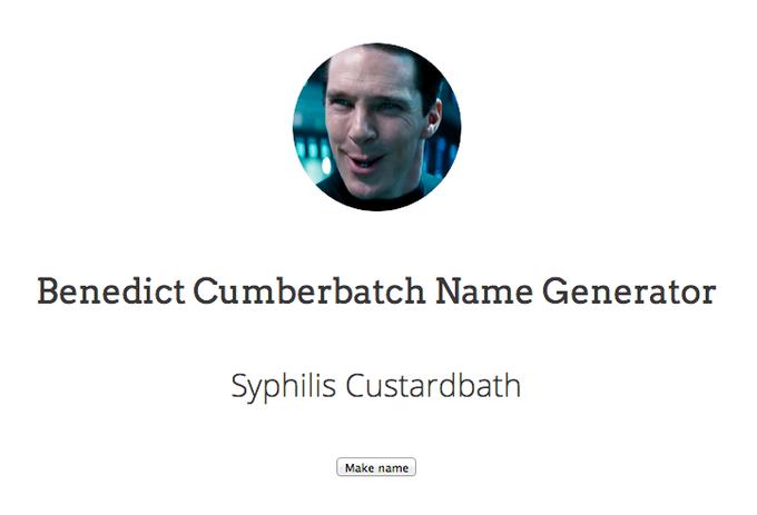 Benedict Cumberbatch | Know Your Meme