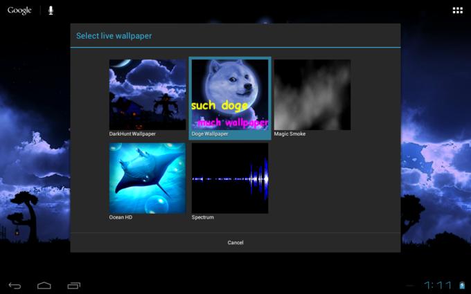 Google Select Live Wallpaper Such Do Ge Much Wallpa Doge DarkHunt Magic Smoke Ocean