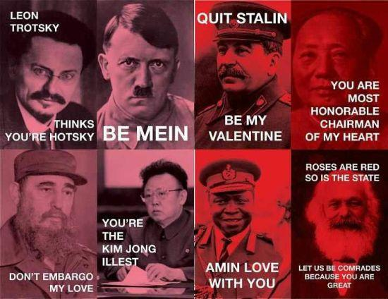 Dictator Valentines Valentine S Day E Cards Know Your Meme