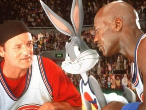... Michael Jordan Space Jam Bugs Bunny basketball player ... 8365732a8