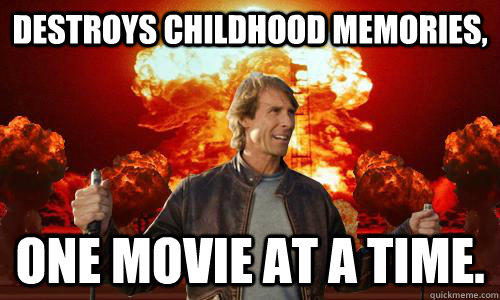 Michael Bay Movie Explosions