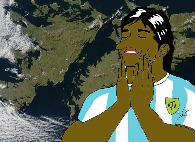 West Falkland Argentina Falklands War