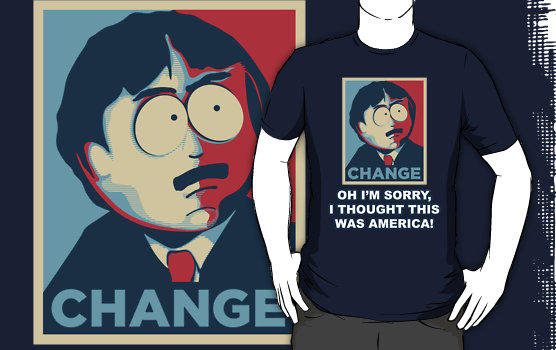 T-shirt South Park Randy Mash Thought This Was America