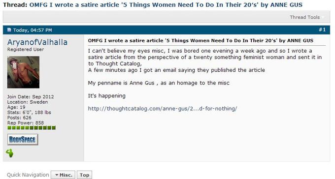 Dating a tumblr feminist screenshot