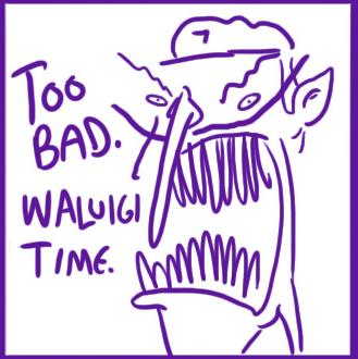 Waluigi time presentation. Know your meme
