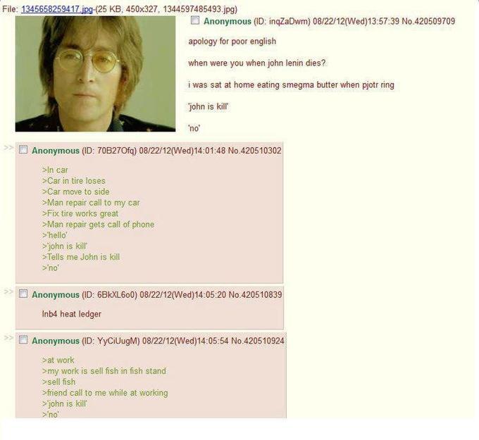 John is Kill   Know Your Meme
