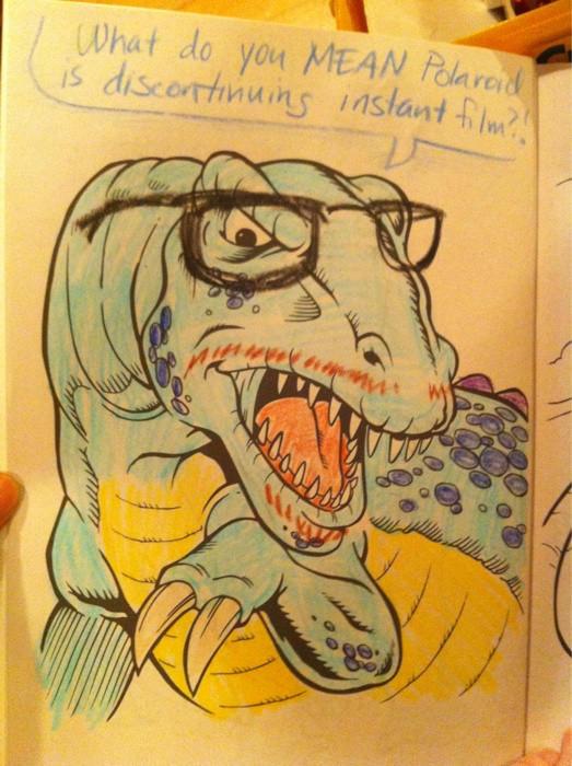 What Do You MEAN Polarend Yellow Mammal Vertebrate Cartoon Text Fauna Art Fiction