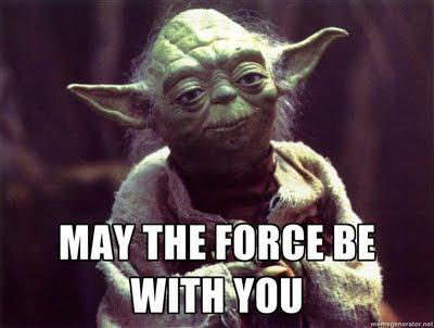 Image result for the force is strong with you meme