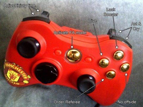 Limited Edition Manchester United Xbox Controller | Special