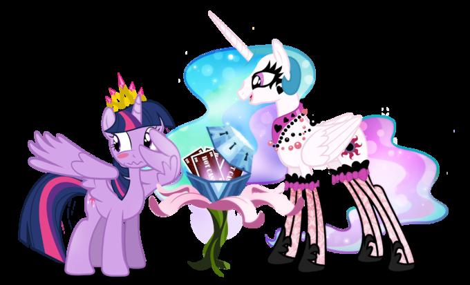 Princess Celestia Twilight Sparkle Pinkie Pie Pony Luna Pink Mammal Vertebrate Horse Like Cartoon