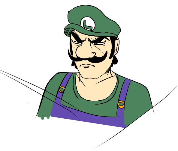 Image 768336 Luigi S Death Stare Know Your Meme