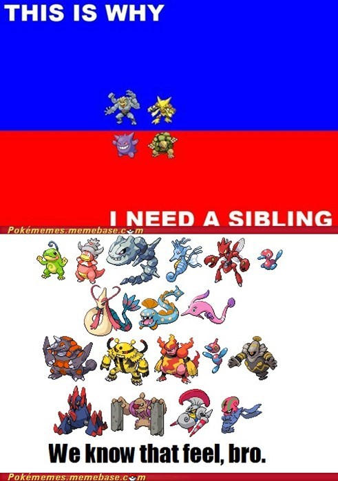 But You Dont Need A Sibling To Tradejust A Friend Pokémon Know