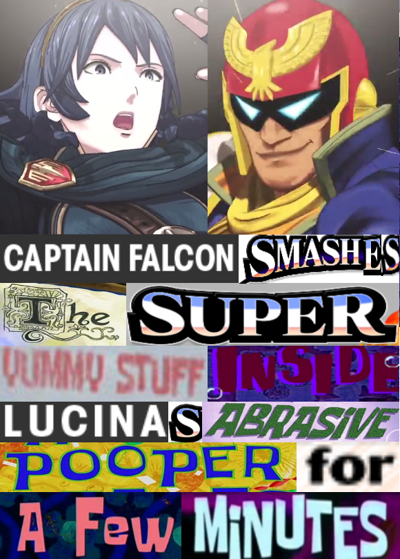 Captain Falcon And Lucina Expand Dong Know Your Meme