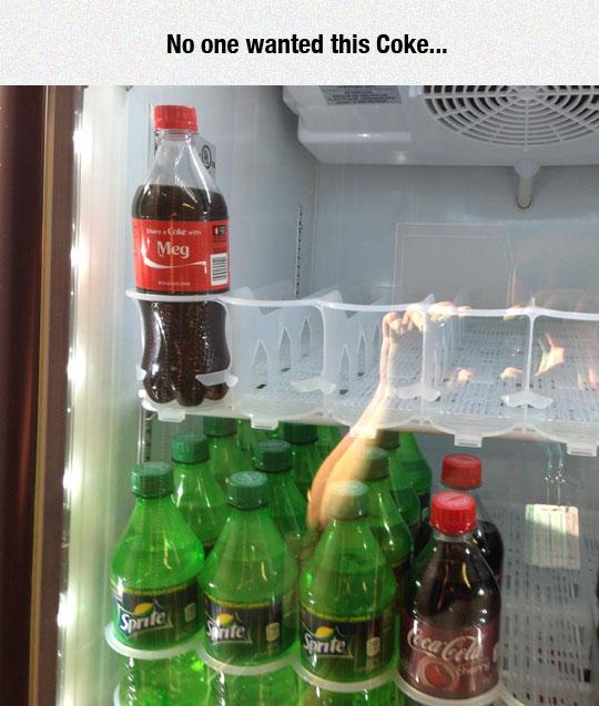 Meg The Loneliest Coke Share A Coke Know Your Meme