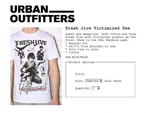 534b04e5bc URBAN OUTFITTERS Fresh Jive Victimized Tee Armed and dange rous. Soft  cotton tee from Eresh