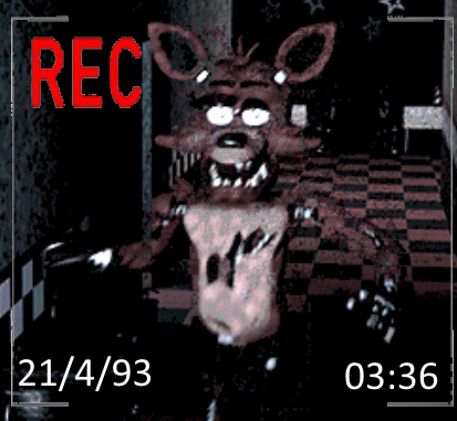 Foxy caught on camera    Five Nights at Freddy's   Know Your