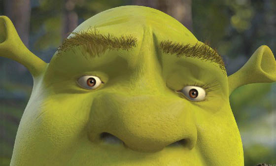 sherk reaction images know your meme