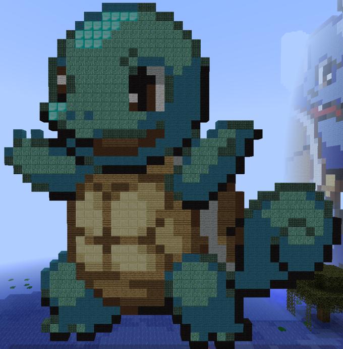 Minecraft Pixel Art Know Your Meme